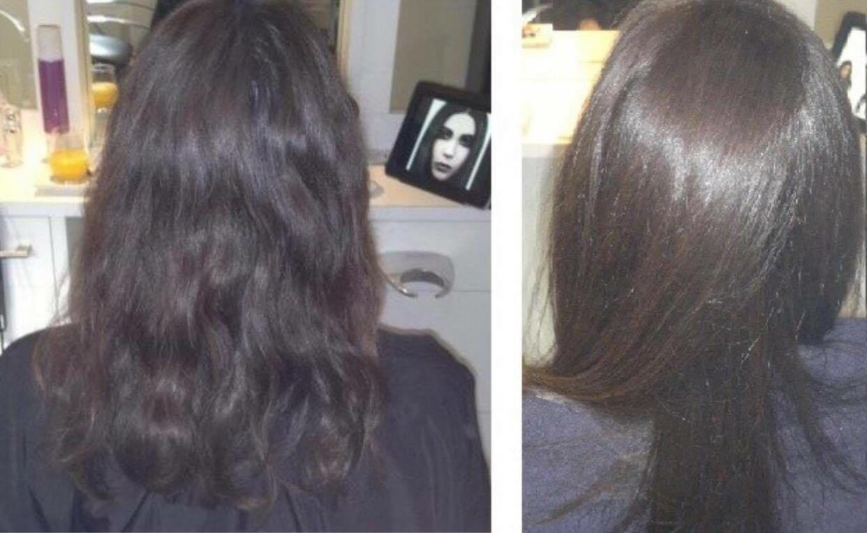 Shampoing pour cheveux avec keratine